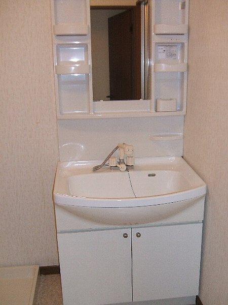 ベルベデレ小木 305号室の洗面所