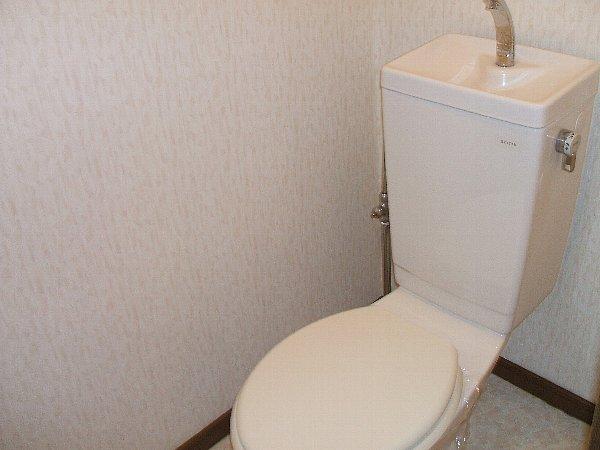 ベルベデレ小木 305号室のトイレ