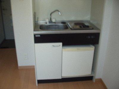 第九コーポ青木 201号室のキッチン