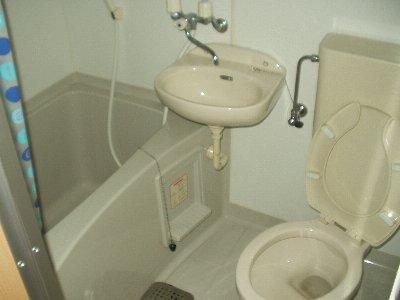 第九コーポ青木 201号室の風呂