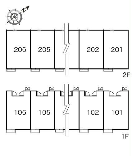 レオパレスエスポワール 106号室のその他