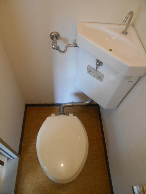 コーポラスみのり 205号室のトイレ
