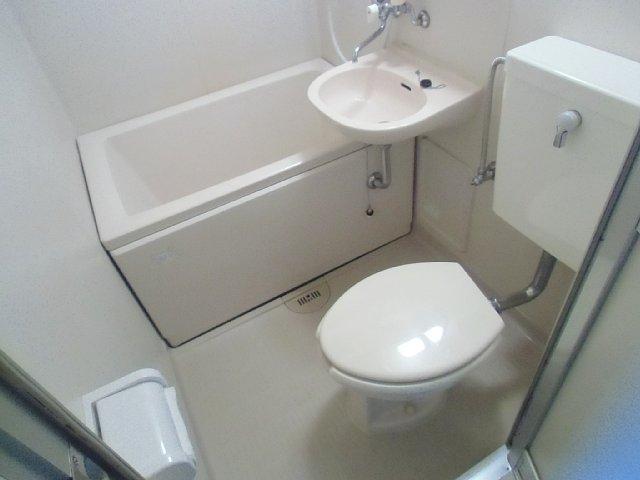 エーデルハイム花染 307号室のトイレ