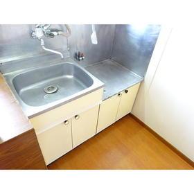 コーポ三広 203号室のキッチン