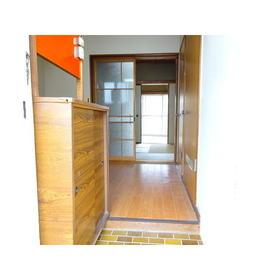コーポ三広 203号室の玄関