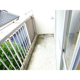 コーポ三広 203号室のバルコニー