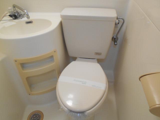 ハイツシャローム 105号室のトイレ