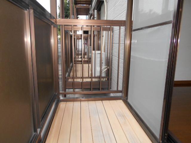 Ein Sakurai 103号室のバルコニー