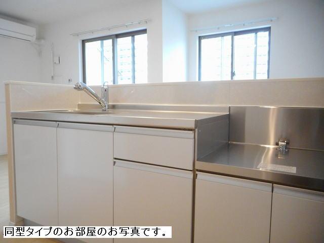 アビターレ ベッシェⅤ 02050号室のキッチン