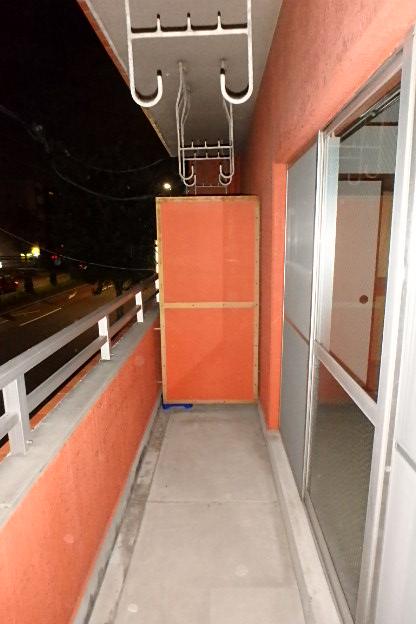 プレズ名古屋徳川 3B号室のバルコニー