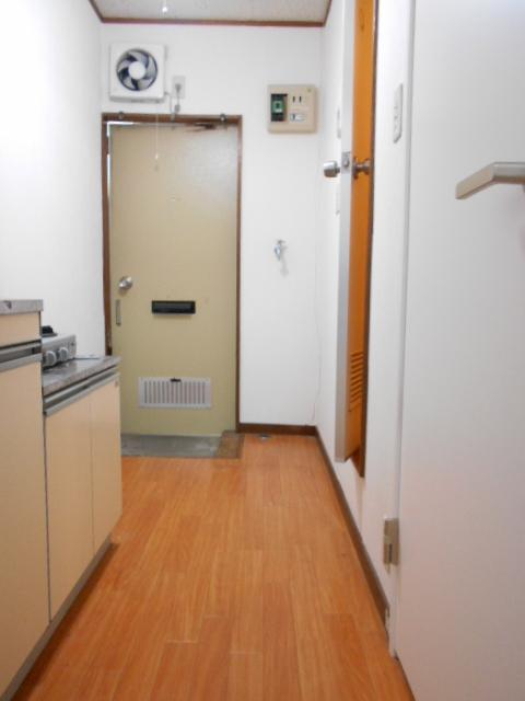 ハイランドハイツ 202号室の玄関
