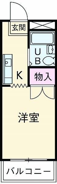 エスポアール・タケオ 307号室の間取り
