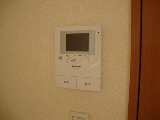 グランドコート弥生 105号室のセキュリティ