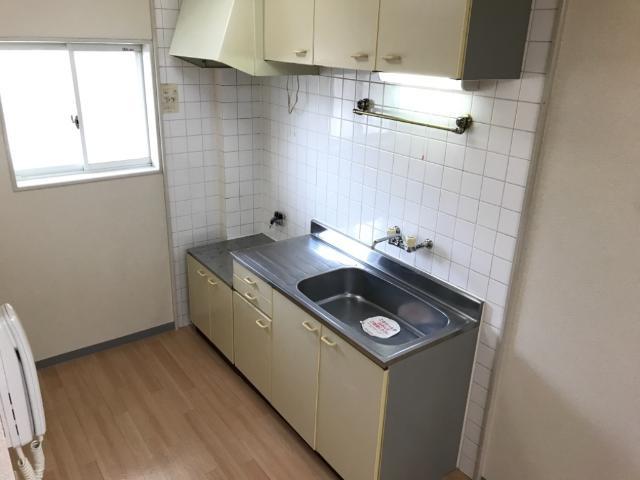 グリーンビレッジ 00201号室のキッチン