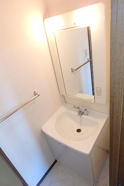 ブランメゾン辻本通 4A号室の洗面所