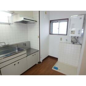 マンション田園 101号室のキッチン