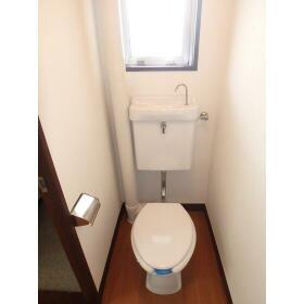 マンション田園 101号室のトイレ