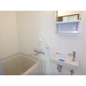 マンション田園 101号室の風呂