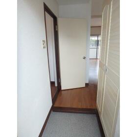 マンション田園 101号室の玄関