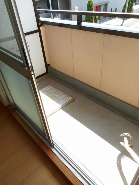 ハイライズ ミズキ 02020号室のバルコニー