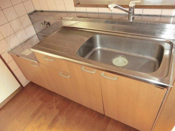 ガウディ田酉 3A号室のキッチン