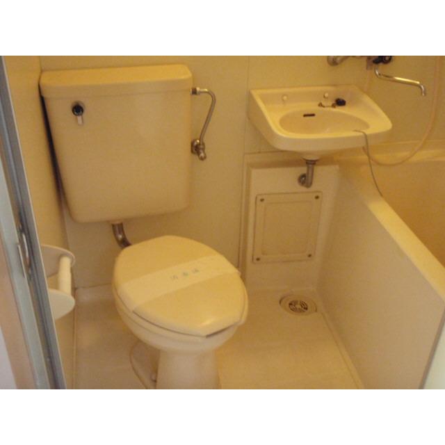 TOP西八王子 126号室のトイレ