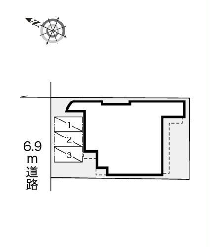 レオパレスRX小幡 406号室のキッチン