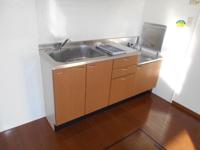 パークハイム 102号室のキッチン