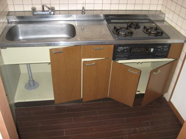 ソレアード中央 207号室のキッチン