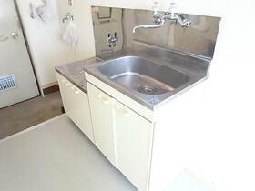 シティリバーハイツ 203号室のキッチン