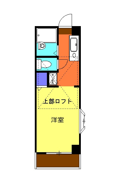 ミユキコーポ・305号室の間取り