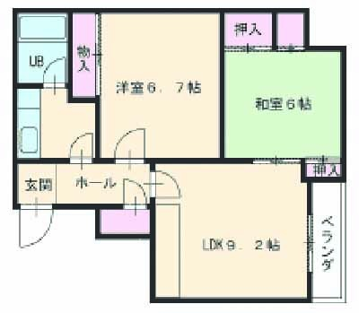 山八第3ビル・361号室の間取り