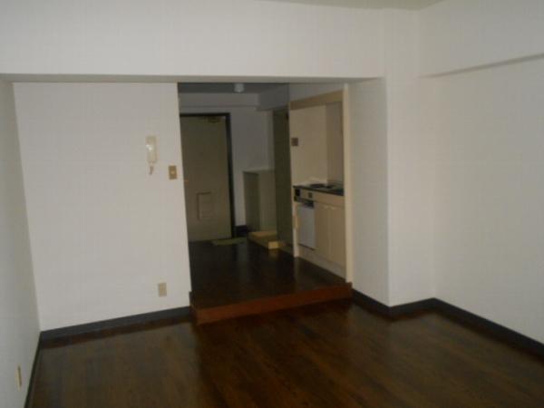 大口平和マンション 4B号室のリビング