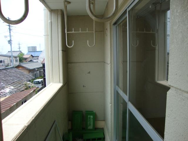 サンファミリーⅡ 00201号室のバルコニー