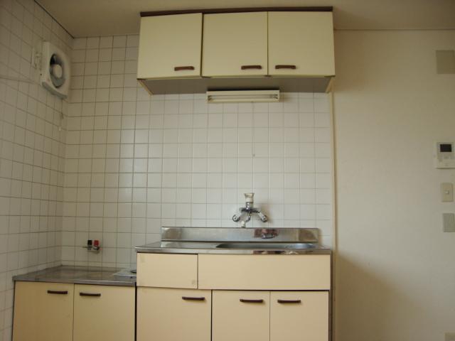 サンファミリーⅡ 00201号室のキッチン