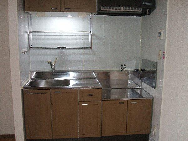 セントポーリアA A201号室のキッチン