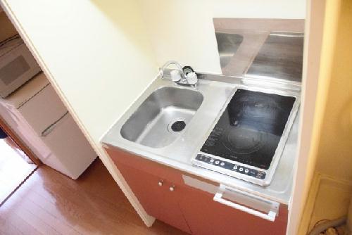 レオパレス石尾台 206号室のキッチン
