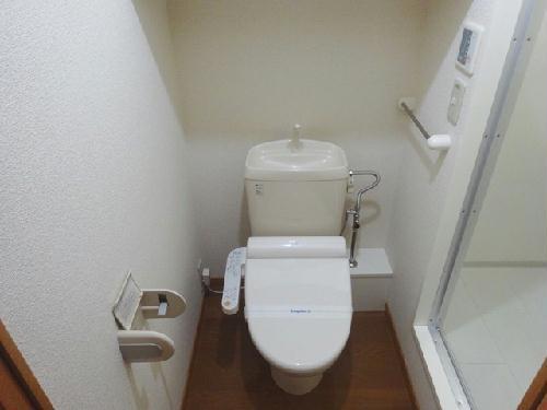 レオパレス石尾台 206号室のトイレ