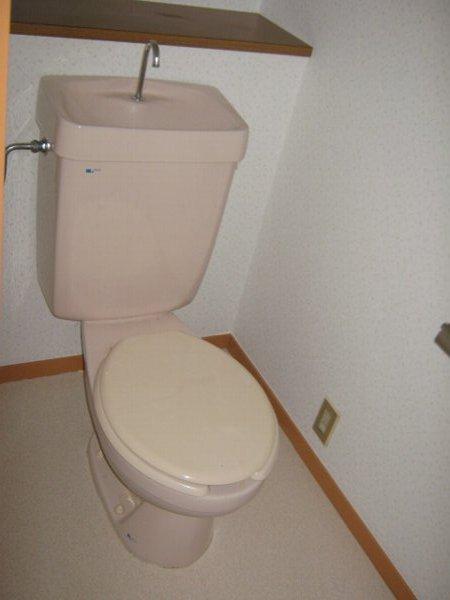 シティアークINAYOSHI 201号室のトイレ