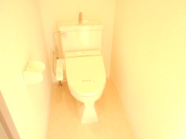 プレミール高幡 403号室のトイレ