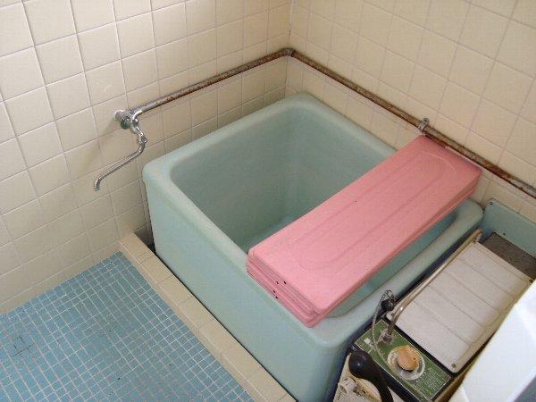 第一コ-ポ新河岸 201号室の風呂