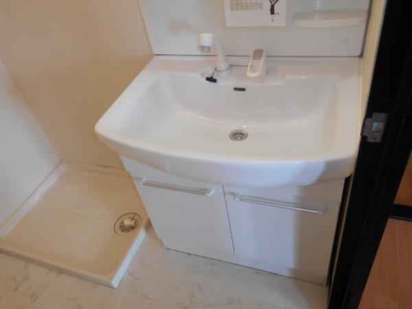 アベニューY・A・N 4C号室の洗面所