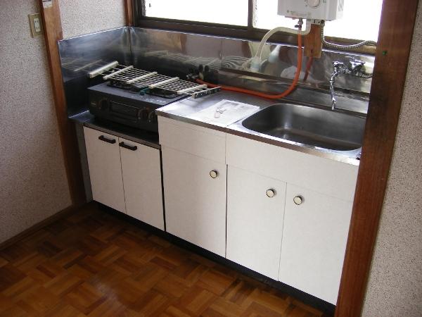 ハイツ小林 202号室のキッチン