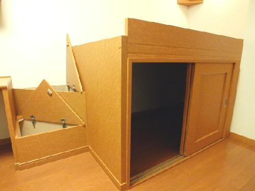 レオパレスSAKURA 208号室の収納
