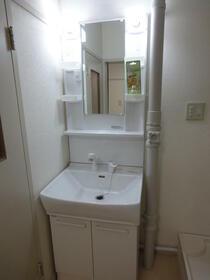 百草団地 2-7-9 509号室の洗面所