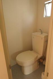 百草団地 2-7-9 509号室のトイレ