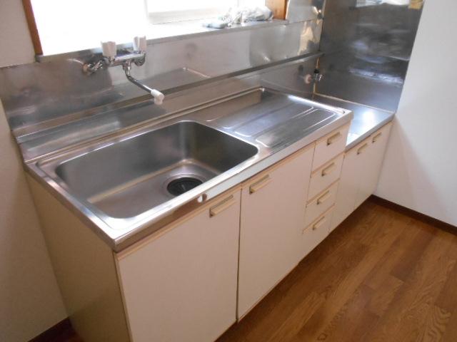 サンシティハイツ斉藤 201号室のキッチン