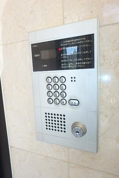 カーサ御成 801号室のセキュリティ