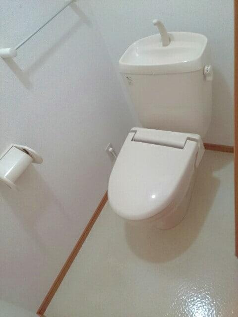 フロ-レゾンⅡ 02030号室のトイレ