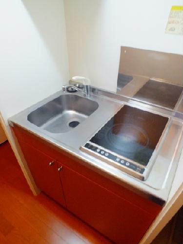 レオパレスSAKURA 110号室のキッチン